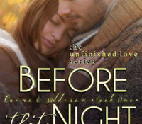 Cover Reveal: Before That Night by Violet Duke