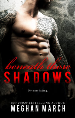 Review and Release Blitz: Beneath These Shadows by Meghan March