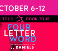 Release Blitz: Four Letter Word by J. Daniels