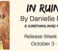 Release Blitz: In Ruins by Danielle Pearl