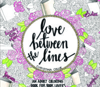 Review and Release Blitz: LOVE BETWEEN THE LINES: An Adult Coloring Book for Book Lovers by Christina Collie
