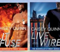 Cover Reveal: Nashville's Finest Series by Caisey Quinn