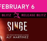 Release Blitz: Singe by Aly Martinez