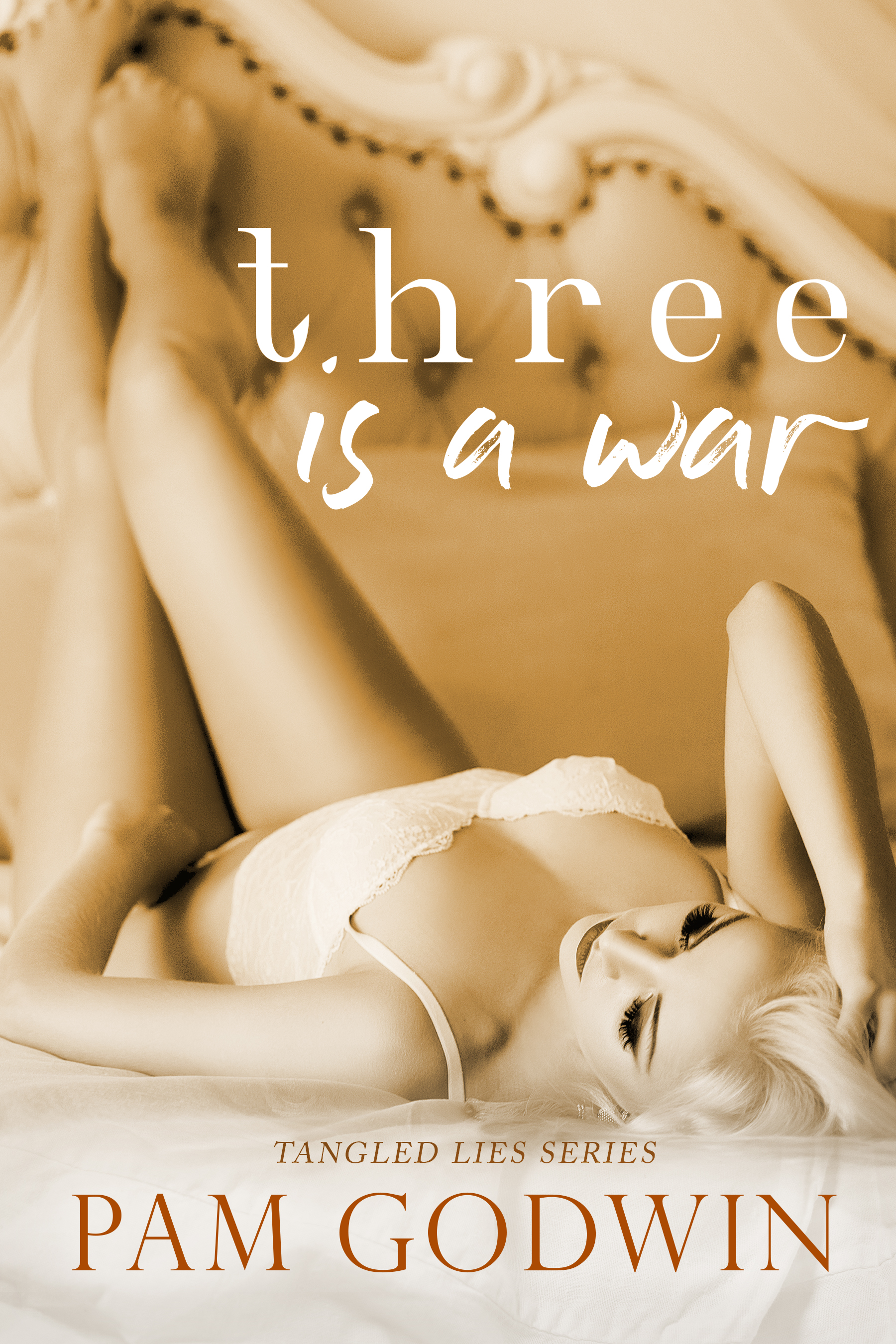 Three is a War (Tangled Lies Book 3) by Pam Godwin